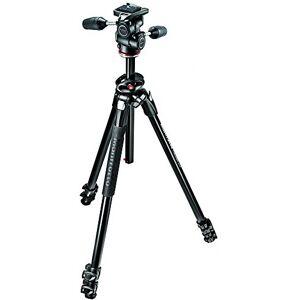 Manfrotto MK290DUA3-3WUS 290 Dual 3-Way Head Kit (Black)