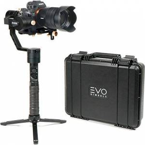 EVO Gimbals EVO Rage Gen2 3 Axis Gimbal for DSLR & Mirrorless Cameras Stabilizer Works with Sony A7S II, Panasonic GH4 GH5, and most cameras 350g to 1800g   1 Year US Warranty & Support
