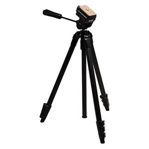 Slik Video Sprint II Trípode para cámaras réflex Digitales Sony Nikon Canon Fuji y más Negro (617-520)
