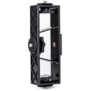 ZHENHUA Robusto Durable Negro S Código multifunción 3en1 Clip de teléfono móvil de Estar Fotografía Soporte de Montaje en trípode Soporte Soporte del Cabezal Conveniente práctico (Color : Black S)