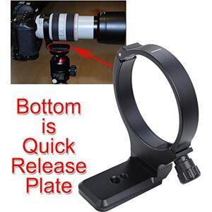 iShoot última soporte lente de metal collar de montura de trípode para Canon EF 28300mm F/3.55.6l is usm, Canon EF 70300mm F/45.6l is usmparte inferior es cámara placa de liberación rápida