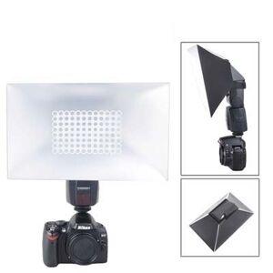 SHIFENX Difusor Suave de Flash Plegable (NG-280), 280 mm x 180 mm x 120 mm (Negro) Durable