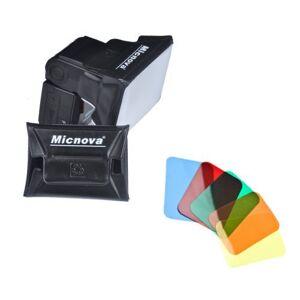 CowboyStudio Micnova Universal Gel Softbox Diffuser for External Camera Flash Units (MQ-B6)