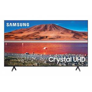 "Samsung TV  55"" 4K UHD Smart Tv LED UN55TU7000FXZX ( 2020 )"