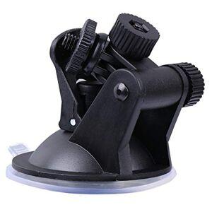 Wakauto 10 Piezas Tablero Cámara Soporte Ventosa Dvr Vehículo Video Grabadora Parabrisas Tablero Ventosa Soporte Negro