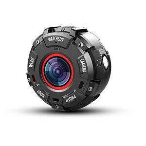 N&F Cámara de acción 1080p FHD 12MP Fotos impermeable 4K WiFi 145° gran angular Dash Cam para coche lente gran angular