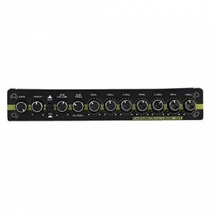 Esenlong Sintonizador Estéreo Ecualizador Gráfico de Audio para Automóvil 3. Entrada Auxiliar de 5 Mm Y Perilla para Agregar a Un Dispositivo Externo como Un Reproductor de Mp3 para