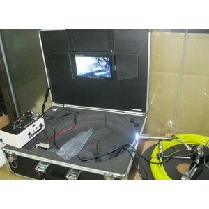 GOWE Cámara de inspección de tuberías de alcantarillado, endoscopio boroscopio cámara inspeccionar tuberías con 12 LED TEC-Z710DM