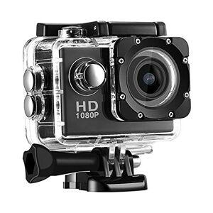 N&F Cámara de acción 1080p FHD 60FPS 20MP fotos WiFi Dash Cam para coche lente gran angular impermeable