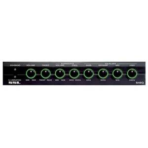 Sound Storm S4EQ 4 Band Pre-Amp Equalizer with Subwoofer Control