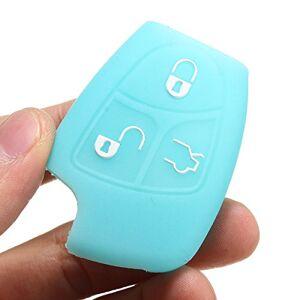 Pukido Carcasa de Silicona para Mando a Distancia de Coche Benz CL500 CLK320 SLK55 (3 Botones)