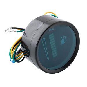 """Wlgreatsp 2""""52mm Universal Car Motos Medidor de Nivel de Combustible Indicador de luz LED 12V GL"""