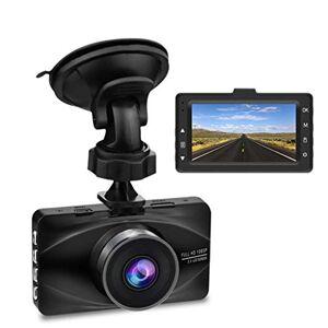 SAN_R Grabadora de conducción HD 1080P, Mini Pantalla de visión Nocturna de 3 Pulgadas, Gran Angular de 170 Grados, grabación de Ciclo, Sensor G, detección de Movimiento, monitoreo de estacionamiento