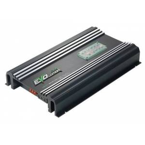 Lanzar 4,000 Watt 5 Channel Amplifier Amp w/ SMD Class A/B MOSFET RCA Input Mobile Audio Amplifier for Car Speakers w/ Bass Boost, Car Electronics, Crossover Network  EV594