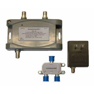 Winegard HDA-100 Amplificador de distribución (5-1000 MHz, 15 dB, Talla única)