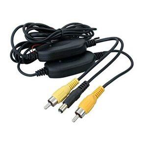 Agomike Professional Easy Install 2.4G Adaptador de transmisor inalámbrico y Receptor para la cámara de Copia de Seguridad de visión Trasera inversa