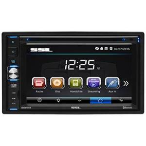 SoundStorm 6.2 in. Double-DIN In-Dash DVD Receiver with Bluetooth in Black