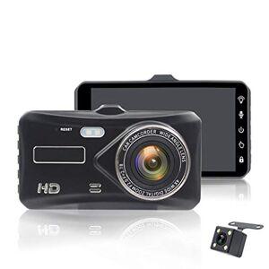 SAN_R 4 Pulgadas táctil HD 1080P Doble Lente Coche Dvr cámara Sprint CAM cámara automática grabadora estacionamiento Asistencia Coche cámara