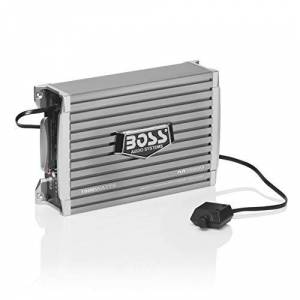 Boss Audio AR1500M Armor 1500-watts Monoblock Class A/B 1 Channel 2-8 Ohm Stable Amplifier with Remote Subwoofer Level Control