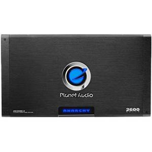 Planet Audio AC26002 Anarchy 2600-watts Full Range Class A/B 2 Channel 2 Ohm Stable Amplifier