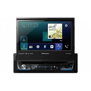 """Pioneer AVH-3300NEX 7"""" Flip out DVD Receiver with CarPlay, Android Auto and Bluetooth"""