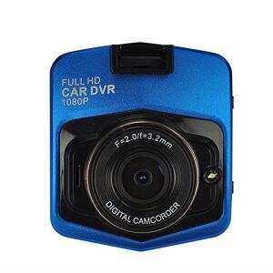 RONSHIN Electronics visualización de 2,4 Pulgadas Full HD 1080P 170 Gran ángulo de visión Nocturna para salpicadero de Coche, DVR con Sensor G, Azul