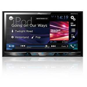 Pioneer AVH-X4800BS Double-DIN In-Dash DVD Receiver with Motorized Display, Bluetooth, Siri Eyes Free, Siriusxm Ready, 7