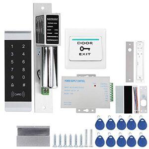 Tosuny Sistema de Control de Acceso, contraseña de Lector de Tarjetas RFID de 125 kHz para operación Nocturna, Sistema de Control de Acceso de Puerta para el hogar/Oficina/Hotel.