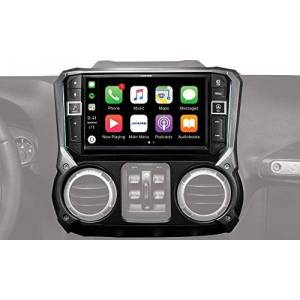 """Alpine Electronics i209-WRA Mech-less Restyle Dash System with Apple CarPlay & Android Auto for Jeep Wranglers, 9"""" (2011-2017)"""
