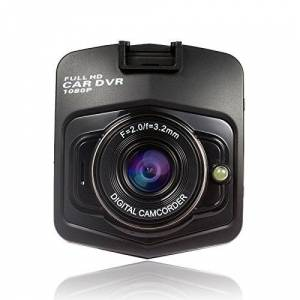 RONSHIN Electronics visualización de 2,4 Pulgadas Full HD 1080P 170 Gran ángulo de visión Nocturna para salpicadero de Coche, DVR con Sensor G, Negro