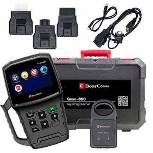 Bosscomm Nuevo 2019 KMAX850 Auto Auto Key Programmer Automotivo OBD2 escáner Herramienta de Llave