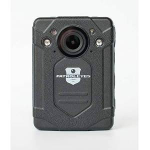PatrolEyes MAX 2K GPS Auto Infrarrojo 64 GB de larga duración de la batería Policía Cuerpo Cámara