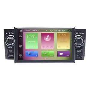 N A BOOYES para Fiat Grande Punto Linea 2007-2012 Android 10.0 Octa Core 4 GB RAM 64 GB ROM 7 pulgadas reproductor de DVD multimedia GPS sistema de soporte auto Play/TPMS/OBD/4G WiFi/DAB/soporte 4K vídeo