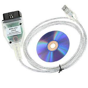 HiLetgo Mini Vci J2534 V8.10.021 for OEM Toyota Cable & Software TIS Techstre...