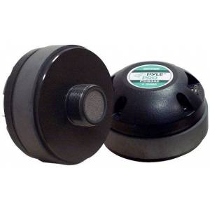 Pyle 1.35 Inch Tweeter Horn Driver 400 Watt High Power Car Audio Speaker System w/Flat Aluminum Voice Coil, Titanium Diaphragm, 1kHz-20 kHz Frequency, 104 dB, 8Ohm, Heavy Duty 20 oz Magnet PDS342
