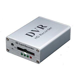 COOMATEC Mini DVR soporte tarjeta SD en tiempo real grabadora de vídeo digital para fpv y vehículo HD mini 1 canal MPEG-4 vídeo