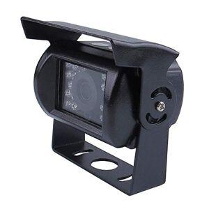 JOINLGO 2 cámaras de visión trasera para coche, 720P, resolución de 1,0 MP, AHD, con carcasa de metal resistente al agua IP67, visión nocturna por infrarrojos, para camión, furgoneta, autobús, trabajo para grabadora de DVR de auto móvil 720P