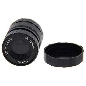 Fielect Lente de cámara  16 mm 720P F1.4 FPV gran angular para cámara CCD CS 1 pieza