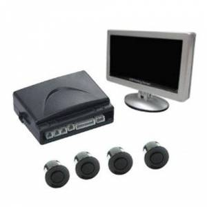 Absolute PS9000 Parking Sensor 4 High Sensitivity Sensor Digital Le feet to Right Dash LCD Display