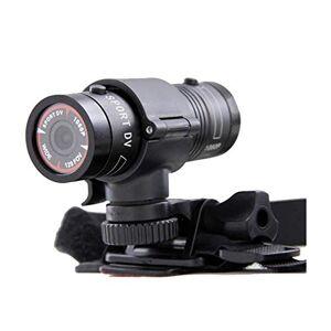 N&F Cámara de acción 120 gran angular 1080p FHD impermeable con pantalla dual detección de movimiento lente gran angular con accesorios de montaje Kit Dash Cam para coche