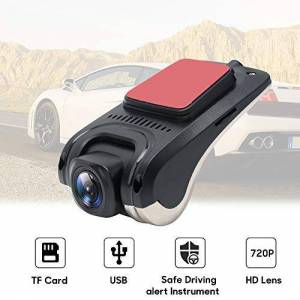 SDRFSWE GPS Que Sigue El Tablero De La Cámara DVR del Coche Que Conduce La Cámara De La Videograbadora HD 720 ADAS Dash CAM Kit para El Sistema Android Accesorios del Coche