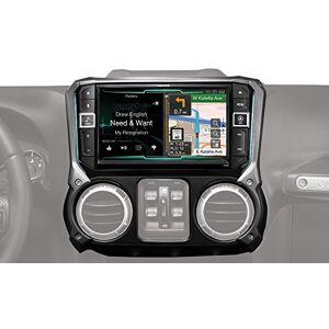 Alpine Electronics X209-WRA Sistema de navegación con Apple CarPlay y Android Auto para Jeep Wranglers (2011-2017)
