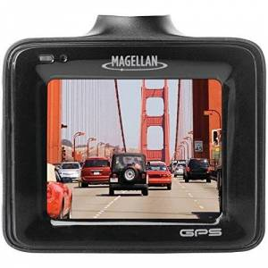 "Magellan 1080P Full HD Dash Camera with Enhanced Low Light Performance, Included 8GB SD Card (Expandable up to 128GB) 2.0"" Black MiVue 320"