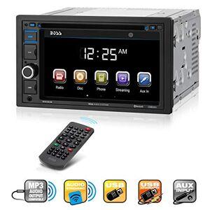 "Boss Audio BV9364B Bluetooth Activado, In-Dash, Double DIN, DVD/MP3/CD /Receptor AM/FM, con una pantalla ancha de 6.2"", Touchscreen, Monitor Digital TFT"
