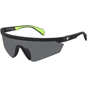 tommy hilfiger TH 1666/S MATTE BLACK/GREY 99/1/120 unisex Sunglasses