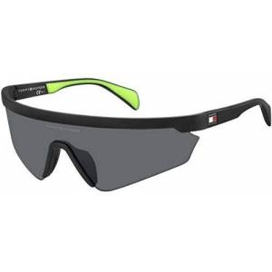 Tommy Hilfiger TH 1666/S MATTE BLACK/GREY 99/1/120 unisex Sunglasses