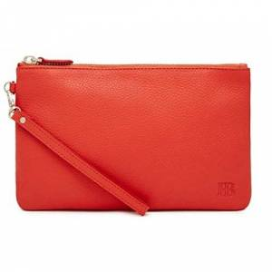 HButler MP447 Mighty Purse Wristlet, Color Naranja, Mediano