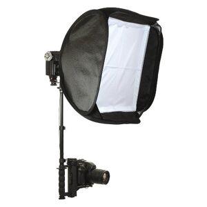 ALZO digital Alzo con Tapa Soporte de Flash Softbox Kit (Negro)-para Todas Las cámaras DSLR