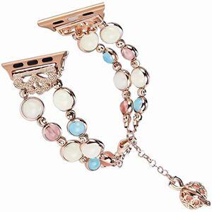f76bba1cf387 3C-LIFE 44mm Charming Jewelry Bracelet Watch Ba.