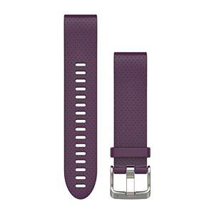 Garmin 010-12491-15 Reloj Inteligente Fenix 5s, QuickFit, Silicone Band, Amethyst Purple, 20mm
